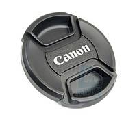 """Крышка для объектива с логотипом """"Canon"""", 55мм."""