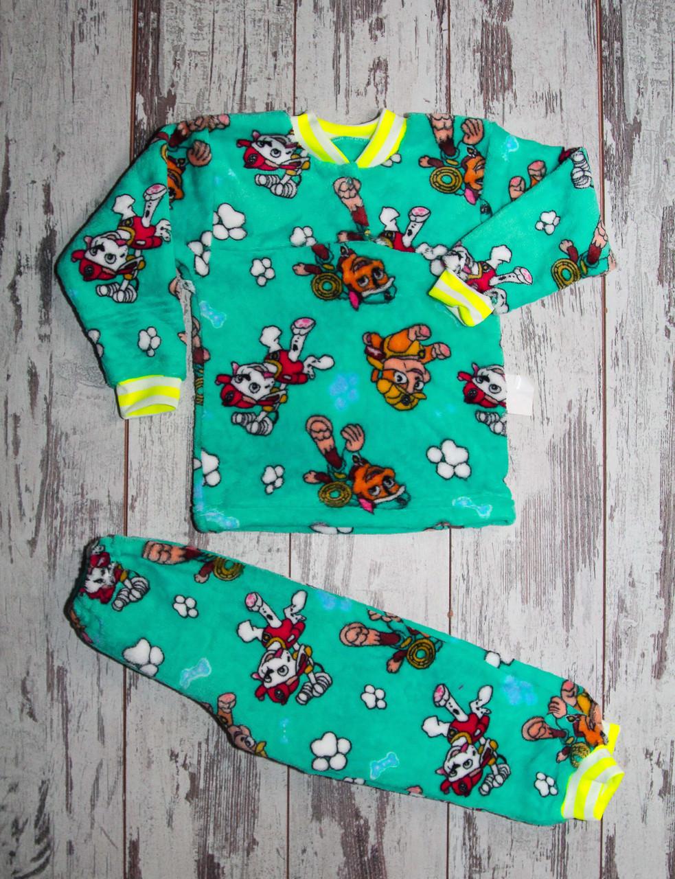 Дитяча махрова піжама для дівчинки, ріст 122-128