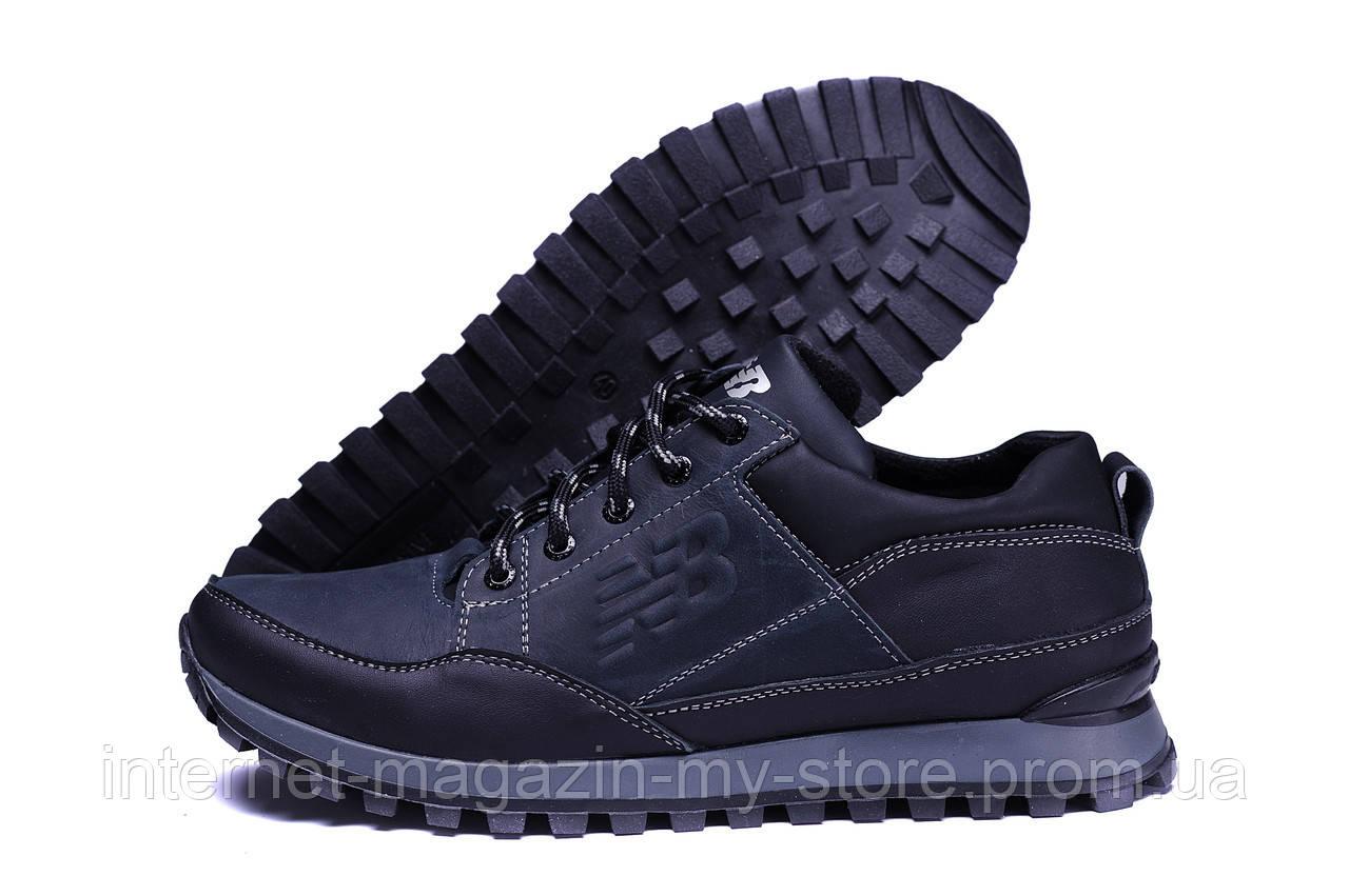 Мужские демисезонные кожаные кроссовки  New Balance