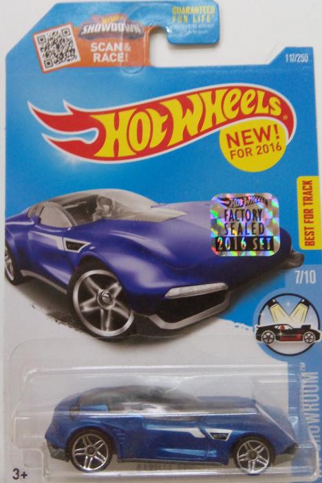 Машинка Hot Wheels 2016 Gazella GT