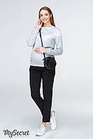 Стильные брюки-чинос для беременных LISA, черные*, фото 1