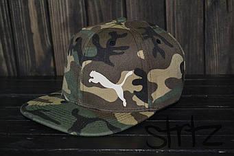 Снепбек Puma камуфляжного (люкс копия)