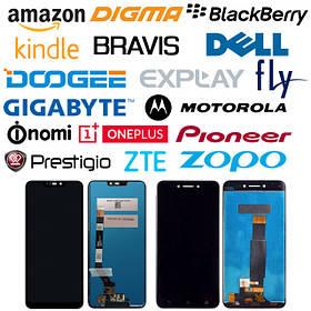 Дисплейные модули в сборе для смартфонов и планшетов других производителей