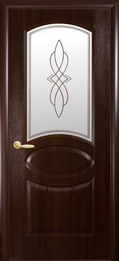 """Дверь Овал+P1 коллекция """"ПВХ Delux Фортис"""""""