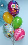 Яркие шарики на День Рождения
