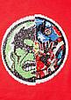Красная футболка на мальчика с пайетками перевертышами C&A Германия Размер 140, фото 3