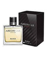 Ароматизатор воздуха Areon Car Perfume 50ml, стекло Black (с пластиной на зеркало)