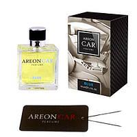 Ароматизатор воздуха Areon Car Perfume 50ml, стекло Blue (с пластиной на зеркало)