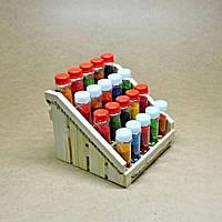 Органайзер для специй Джолокия люкс 20 бланже с баночками для специй