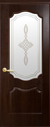 """Дверь Вензель+Р1 коллекция """"ПВХ Delux Фортис"""""""