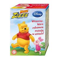 Витамины для детей с малиновым вкусом Plusssz Zizzz  50 шт