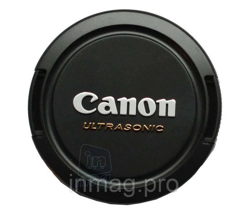 Крышка для объектива с логотипом