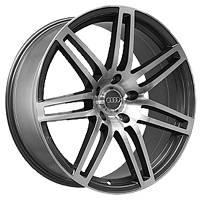 Литые диски Replica Audi (A448) W10 R22 PCD5x130 ET50 DIA71.6 GMF