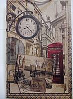 Пакет подарочный бумажный большой крафт вертикальный 25х39х9 (27-128)