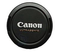 "Кришка для об'єктива з логотипом ""Canon Ultrasonic"", 62мм., фото 1"