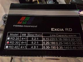 Катушка Excia 2000, 4+1 подшипник, фото 2