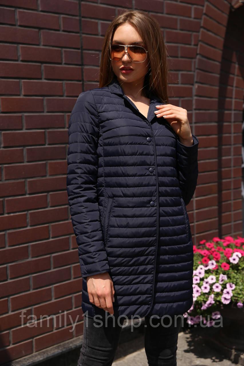 840301e4d1d Удлиненная женская демисезонная куртка в классическом стиле. 1 065 грн