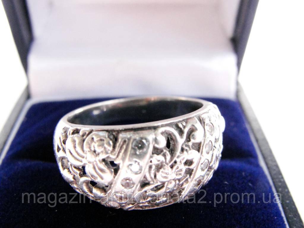 Очаровательное винтажное кольцо! Серебро!