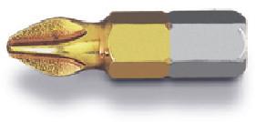 Бита с титановым покрытием PH1 x 25 мм Hitachi/HiKOKI (752260) 3 шт.
