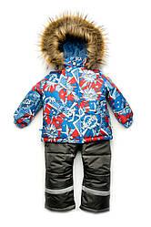 Зимовий дитячий костюм з мембранної тканини для хлопчика