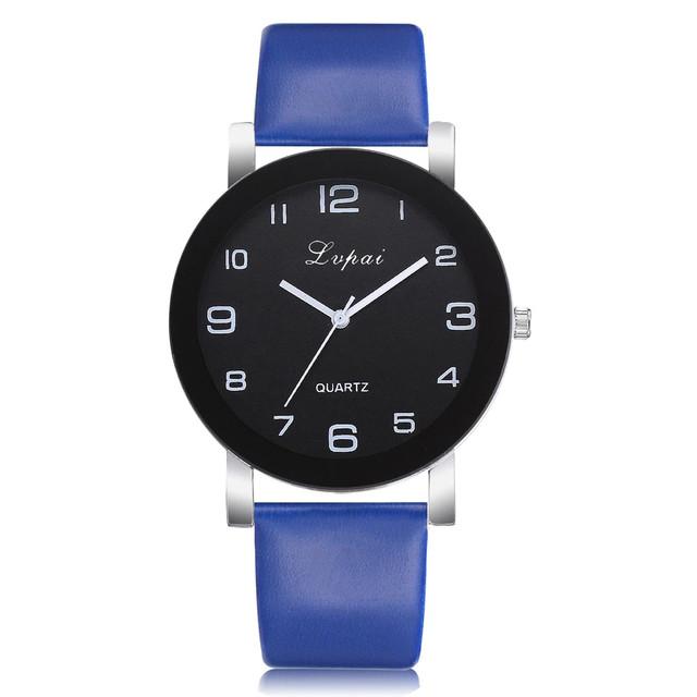 Женские наручные часы с синим ремешком
