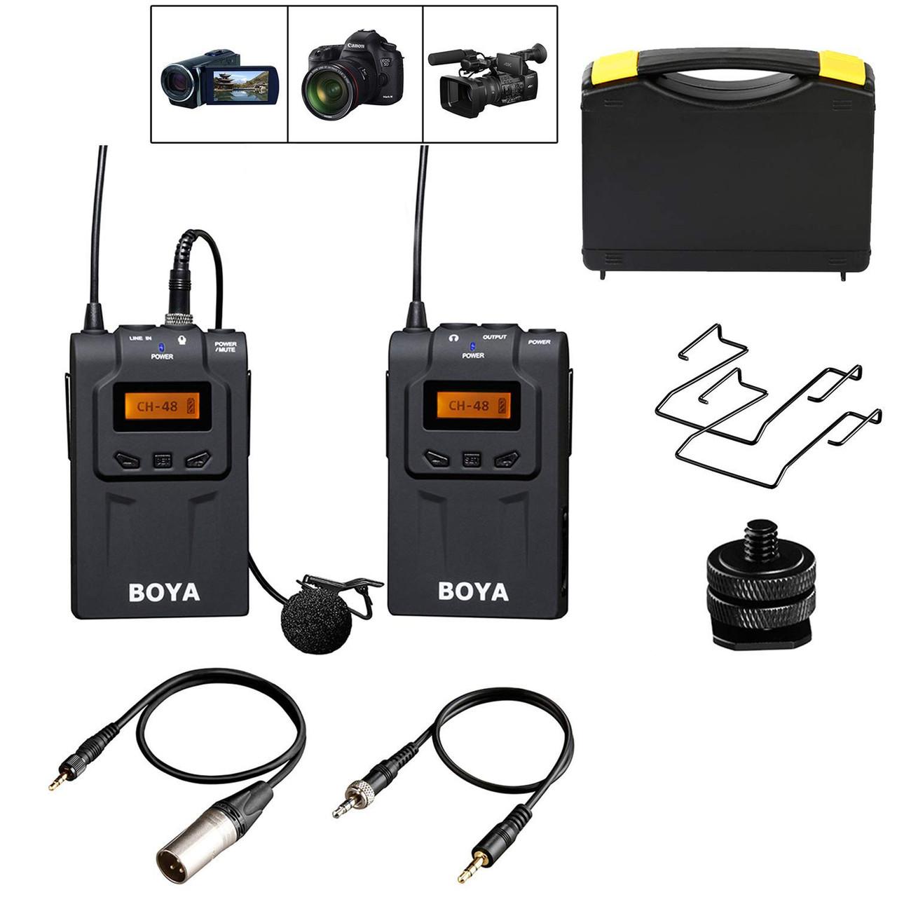 Петличная радіосистема Boya BY-WM6