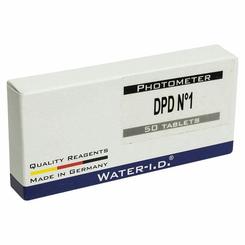 Таблетки для фотометра DPD1 на определение свободного хлора (пачка 50 таблеток)