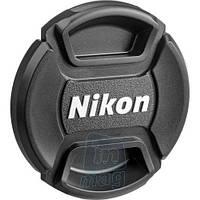 """Крышка для объектива с логотипом """"Nikon"""", 58мм."""