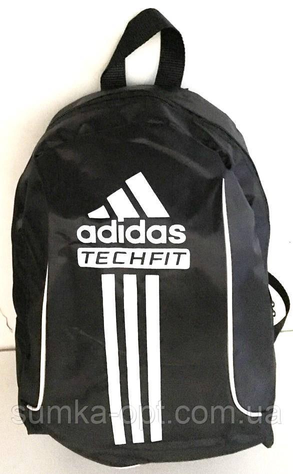 Спортивні рюкзаки з плащової тканини Adidas (чорний)30*43см