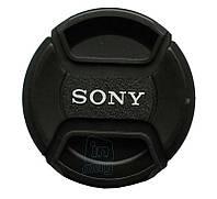 """Кришка для об'єктива з логотипом """"Sony"""", 55мм., фото 1"""
