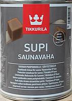 Защитный воск для саун Supi Saunavaha Tikkurila Саунаваха, 0.9л