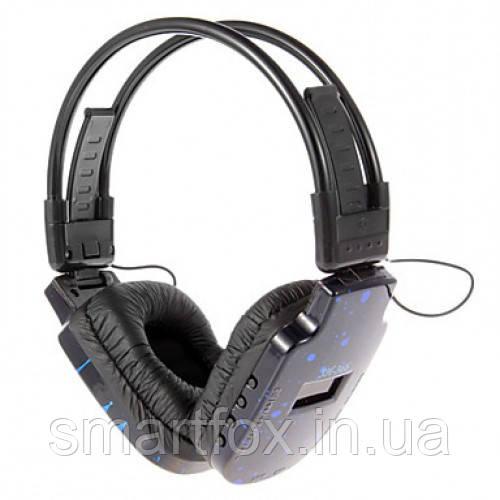 Наушники беспроводные SH-366 со встроенным MP3 плеером + дисплей