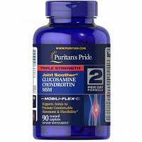 Glucosamine Chondroitin MSM Triple Strength - 90tabs, Puritan's Pride