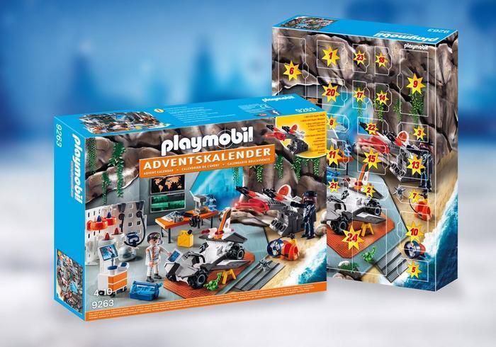 Playmobil 9263 Spy Team Workshop Майстерня шпигунів (Конструктор Плеймобил Адвент-календарь. База шпионов)