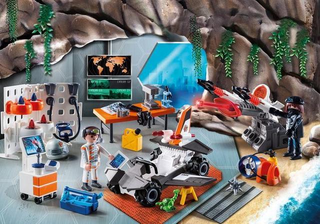Playmobil 9263 Адвент календарь База шпионов
