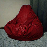 Кресло мешок Груша бордо