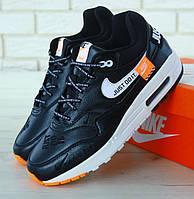 "Мужские кроссовки Nike Air Max 1 ""Just Do It"". Живое фото. Топ качество! (Реплика ААА+), фото 1"