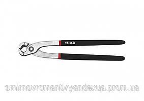 Клещи для скрутки YATO никелированные l=250 мм