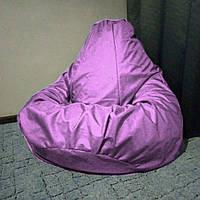 Кресло мешок Груша св. розовый