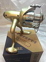 Катушка Globe 3000 4+1 подшипник, пластиковая шпуля