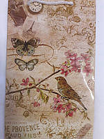 Пакет подарочный бумажный средний 16х25х7 (23-118)