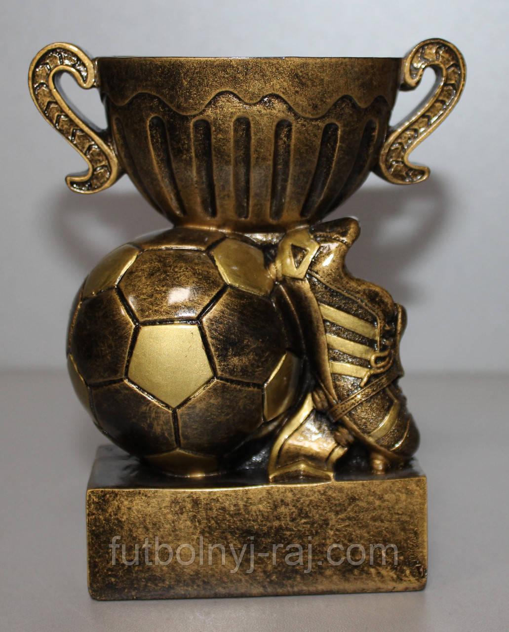 """Сувенір футбольний """"Кубок-чаша, м'яч і бутса"""""""
