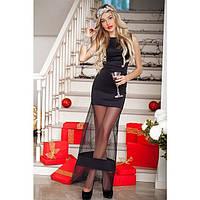 """Вечернее Платье в пол """"Сетка"""", фото 1"""