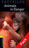 OBWL Factfiles 1: Animals in danger + CD (2 ed)