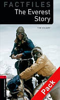 OBWL Factfiles 3: The Everest story + CD (2 ed)