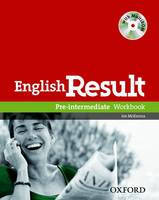 English Result Pre-Intermediate: Workbook with Answer Booklet and MultiROM Pack