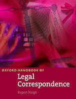 New Oxford Handbook of Legal Correspondence