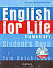 English for Life Elementary SB W/MU-ROM PK