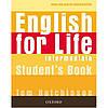 English for Life Intermediate: SB