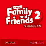 Family and Friends 2 Class Audio CD (2) /2nd edition/